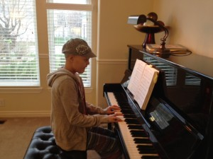 Ashtyn Playing Piano