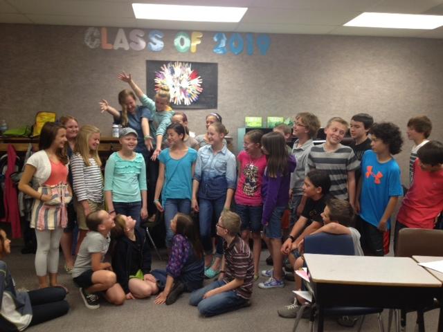 Ashtyn 6th Grade Class
