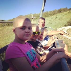 Alpine Slide with Siblings